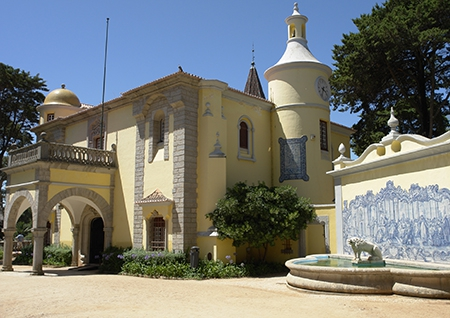 One of many old buildings in Cascais