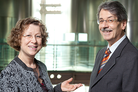 Dr. Norbert Rau and Mrs. Anke Rau