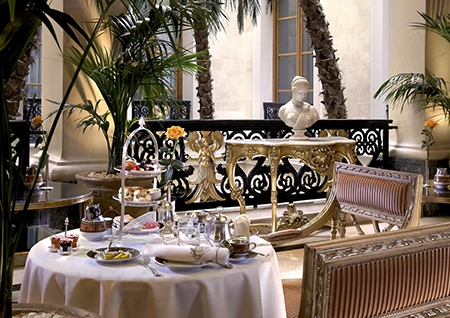 Afternoon Tea in the Winter Garden