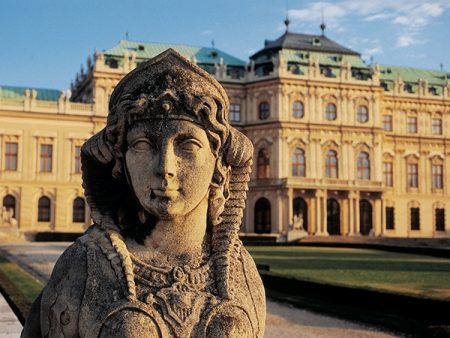 The Belvedere Palace, adjacent to the hotel
