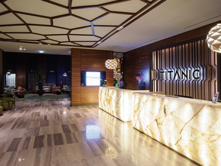 The Titanic Chaussee Hotel Berlin Reception