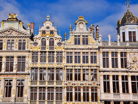 Buildings at the Grand Place
